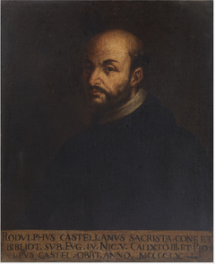 Portrait of Rodolpho Castellano (d.1460), Papal Librarian and Confessor