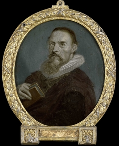 Portrait of Samuel Ampzing, Clergyman and Poet in Haarlem