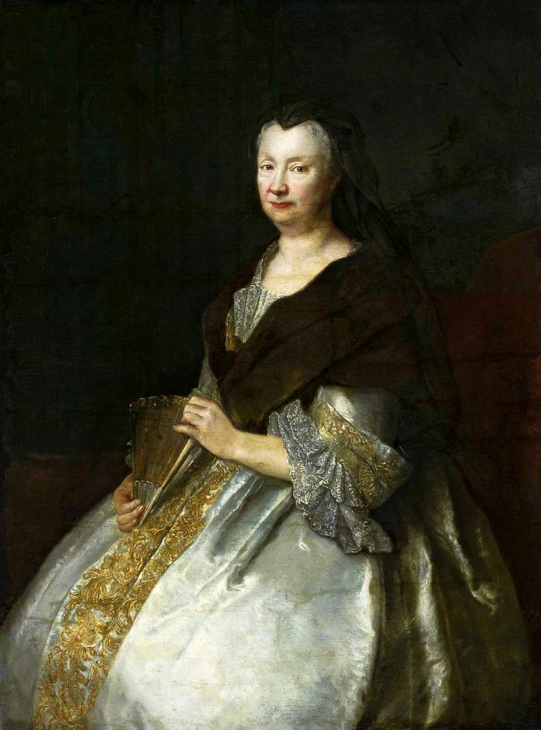 Portrait of Sophia Hedwig von Tettau (1662–1733)