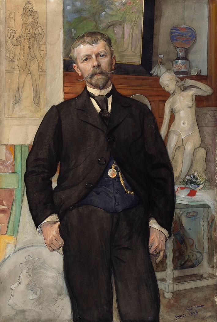 Portrait of the Architect Jac. Ahrenberg