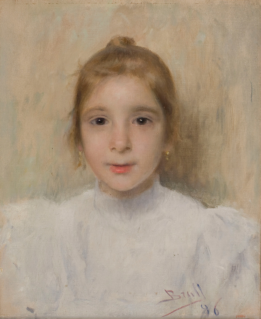Portrait of the Girl Rosó Galia
