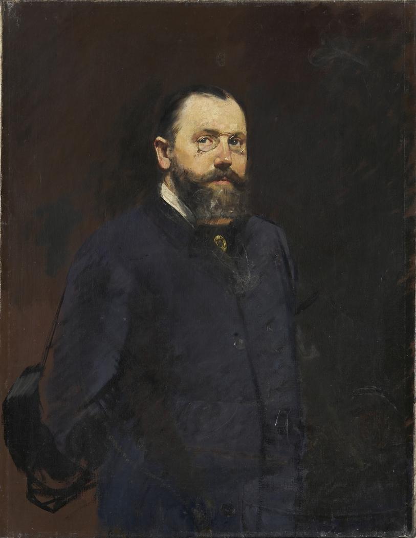 Portrait of Viggo Glahn Ørbeck