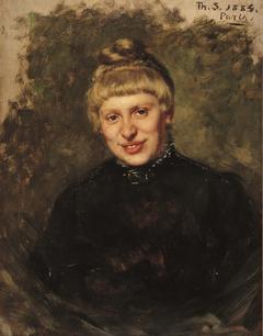 Portrait of Wally Moes