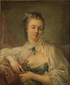 Portrait présumé de Jeanne-Elisabeth-Victoire Deshays, épouse de l'artiste