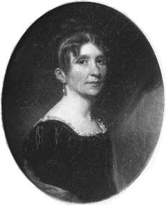 Portrait Wilhelmina Jacoba van Hoorn (1776-1853) Husband. Henry Bicker (1777-1834)