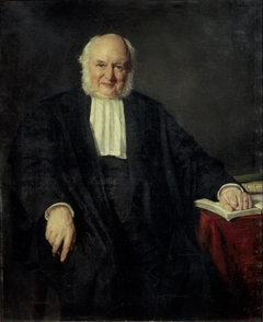Portret van dr. Nicolaas Beets (1814-1903)