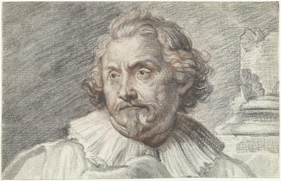 Portret van Karel van Mallery