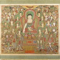 Preaching Sakyamuni Buddha