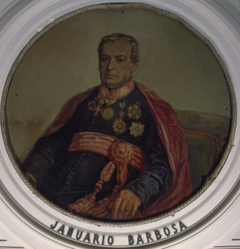 Retrato de Cônego Januário da Cunha Barbosa
