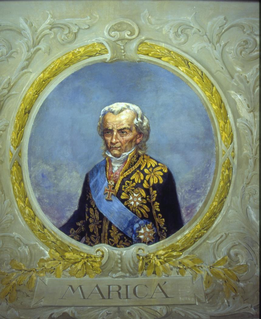 Retrato de Mariano J. Pereira Fonseca (Marquês de Maricá)