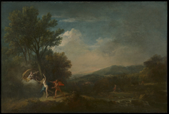 River Landscape with Apollo Pursuing Daphne