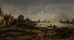 River View by Moonlight