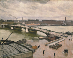 Rouen, quay of Paris, 1912