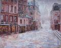 """""""Rue du Haut-Pave"""", Paris 1858"""