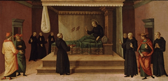 Saint Nicholas of Tolentino Restoring Two Partridges to Life