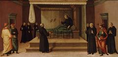 Saint Nicholas of Tolentino Restoring Two Partridges to Life