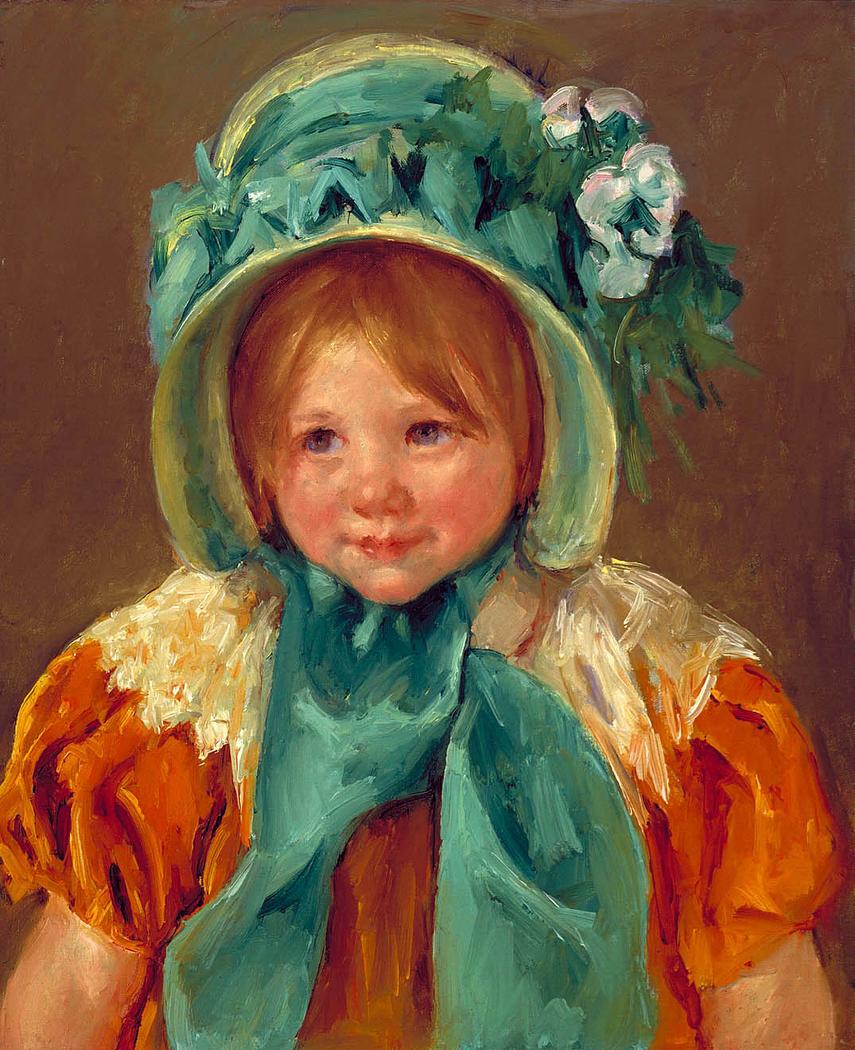 Sara in a Green Bonnet