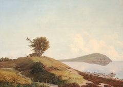 Scanian landscape with a view of Kullen