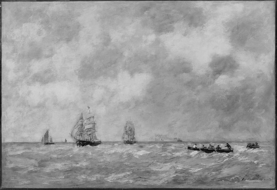 Seascape, River Pilots