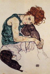 Seated Woman with Bent Knee