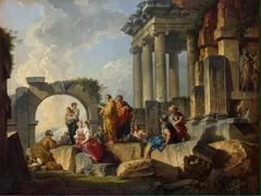 Sermon of St Paul amidst the Ruins