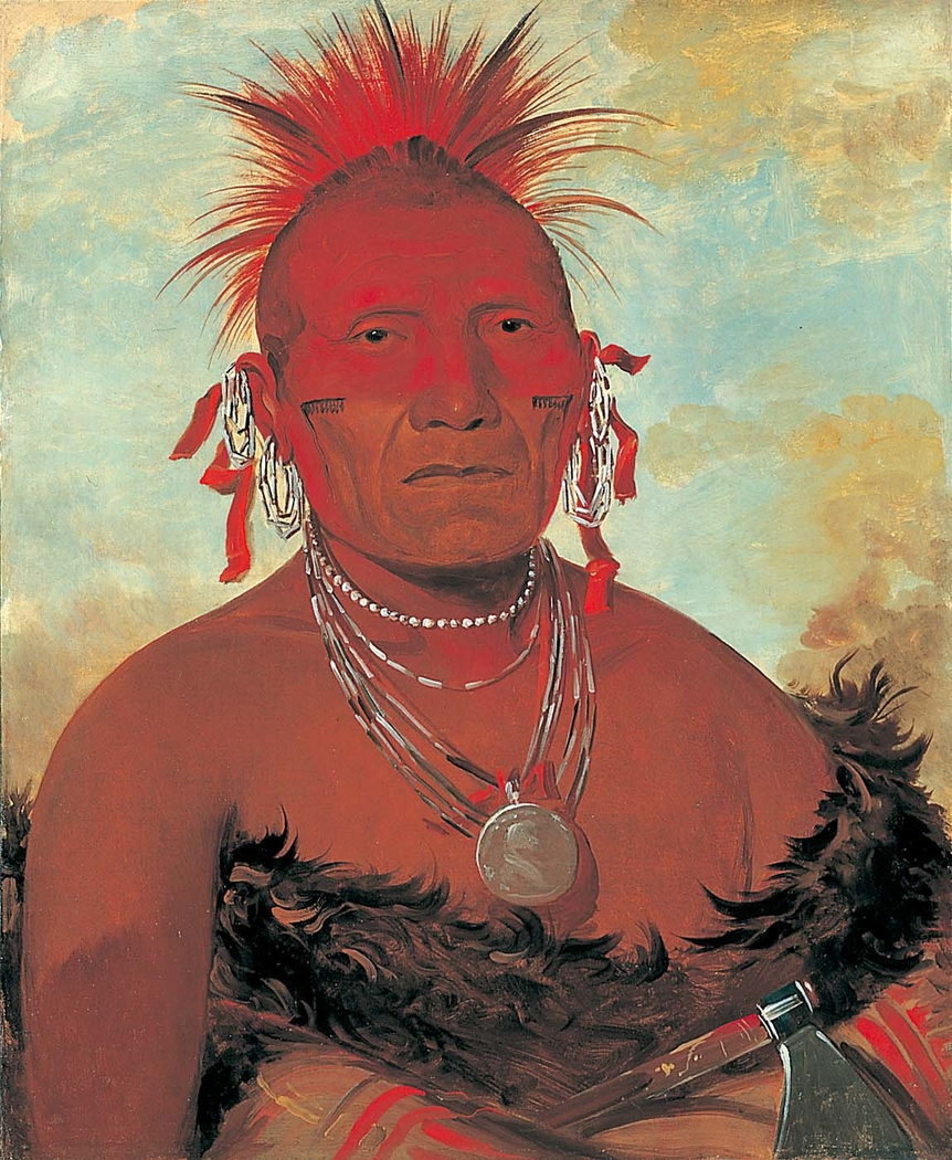 Shón-ka-ki-he-ga, Horse Chief, Grand Pawnee Head Chief