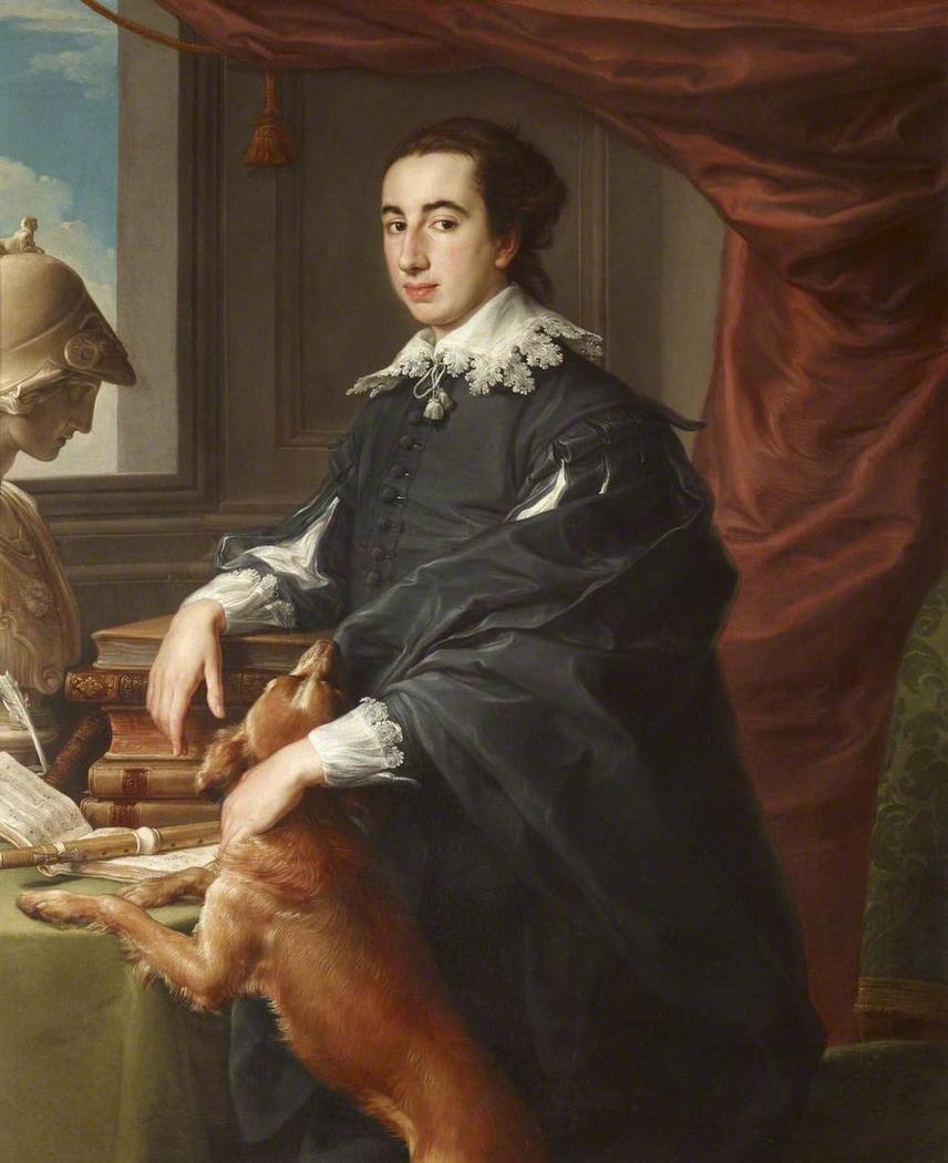 Sir Robert Davers, 5th Bt (1729-1763), aged 21