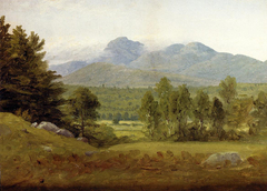 Sketch of Mount Chocorua, New Hampshire