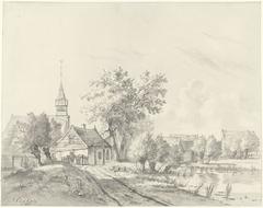 Sloten, gezien vanaf de Osdorperweg