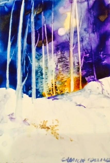 Snow Scene Series #1