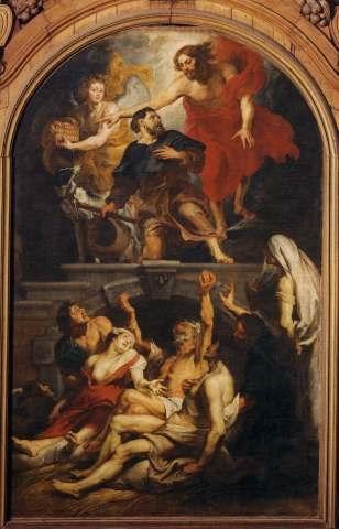 St. Roch interceding for the plague-stricken