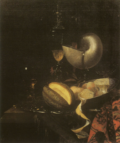 Still Life with Fruit and a Nautilus Cup