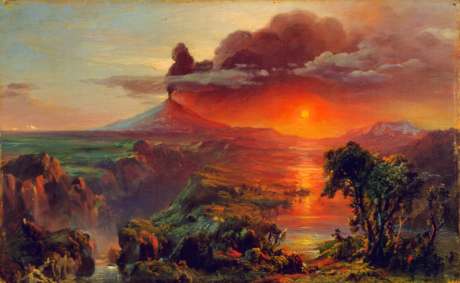 Study for Cotopaxi