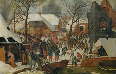 The Adoration of the Magi in the Snow