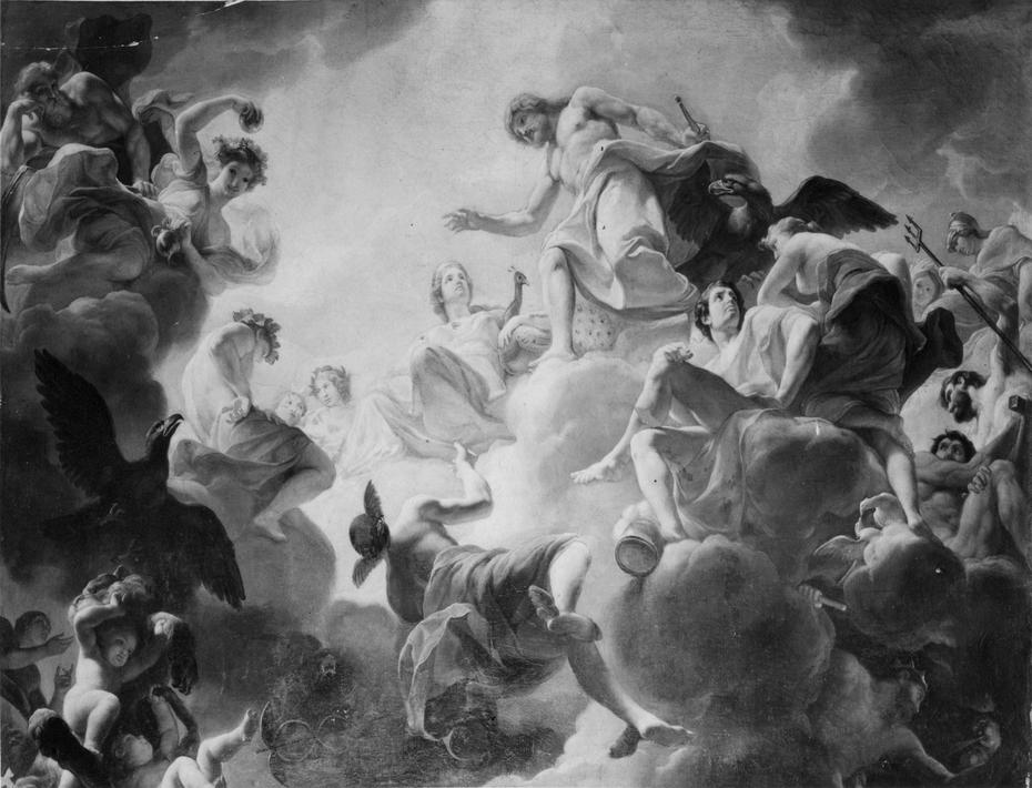 The Apotheosis of Hercules