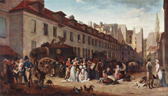 The Arrival of the Stagecoach