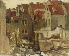 The Demolition of the Grand Bazar de la Bourse on the Nieuwendijk, Amsterdam