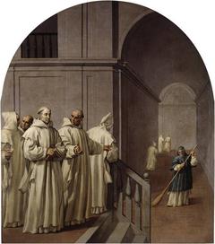 The Humility of Saint Hugo and Saint William Abbot of San Teodofredo