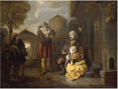 The Levite and his Concubine at Gibeah