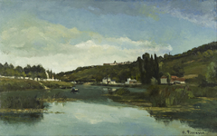 The Marne at Chennevières