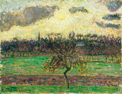 The Meadows at Éragny, Apple Tree