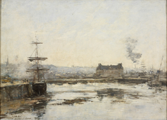 The Port at Trouville
