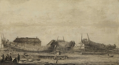 The Shipyard of the Amsterdam Admiralty