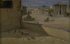 The so-called Temple of Vesta in Rome