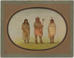 Three Piankeshaw Indians