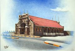 Tourist pier - Aden city
