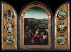 Triptych: Rest on the Flight into Egypt