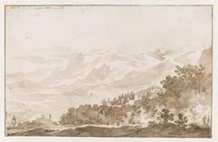 Tusculum (Frascati) vanuit het Zuidwesten