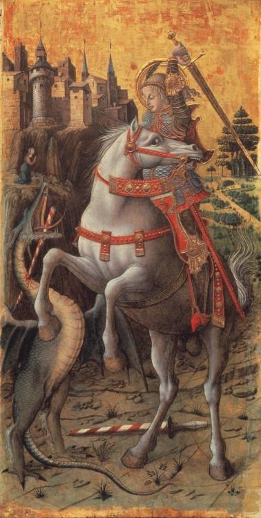 San Giorgio che uccide il drago