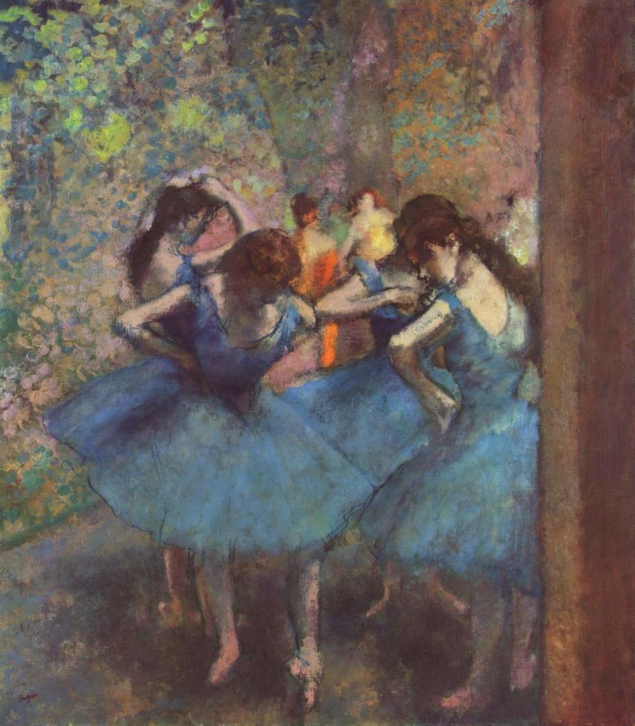 Danseuses bleues